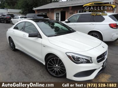 2018 Mercedes-Benz cla CLA 250 4MATIC Coupe AMG (Cirrus White)