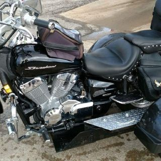 2012 Honda Shadow Spirit with trike kit