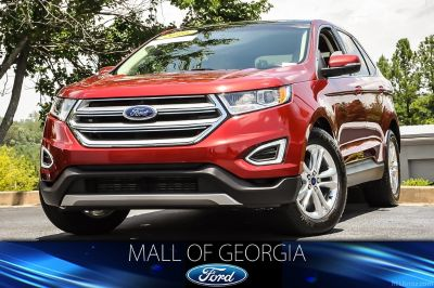 2016 Ford Edge SEL (Ruby Red)