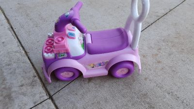 Fisher price ride on toy.