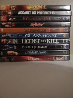 LOT OF 10 - DVD'S