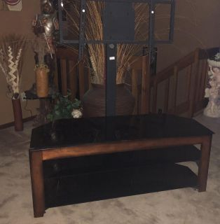 NICE 3 Tier TV Stand With Swivel Top