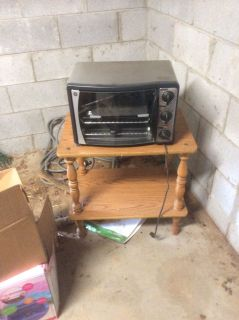 GE rotisserie and toaster oven