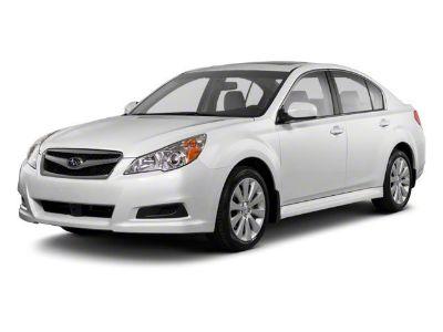 2012 Subaru Legacy 2.5i (Crystal Black Silica)