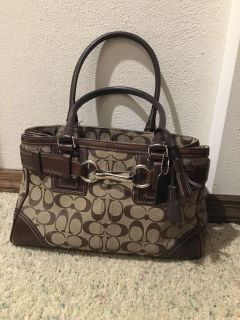 Authentic coach purse - used