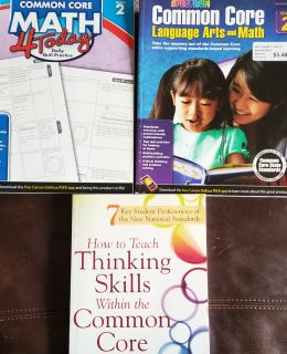 4 Common Core Teaching Books