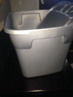 $4 storage container 18 gallon with lid