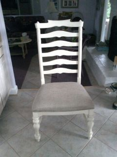 4 New Paula Deen Ladder Back Dining Chairs