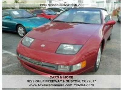 97341993 Nissan 300ZX - Red 6-Cylinder9734