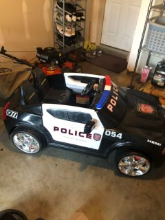 Dodge police car $70 power wheel like
