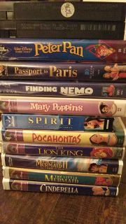 VHS kids movies