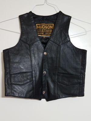 Hudson Kids Leather Vest