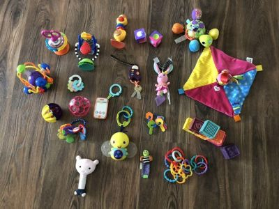 Large baby toy lot!
