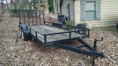 2005 Hooper Landscape Trailer