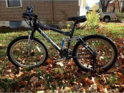 "$98 Blue 26"", 24 speed mountain bicycle for sale (Manhattan,KS)"