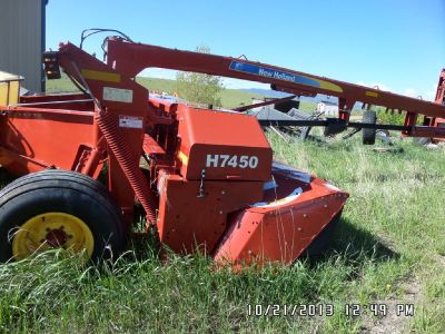 2012 New Holland 7450 for sale in Ranchester, WY.
