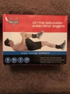 Valeo Ankle Weight 20 Lb
