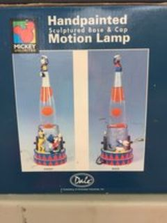 Mickey Mouse Lava Lamp Old