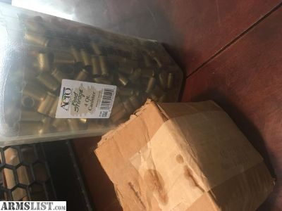 For Sale: 40 Brass and Bullets for reloading