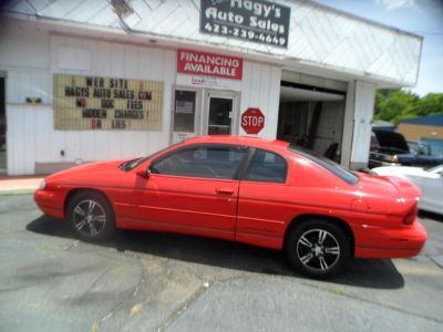1995 Chevrolet Monte Carlo Z34 (RED)