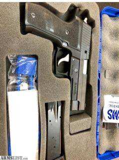 For Sale: Sig P226 Mint 40 cal Elite frame
