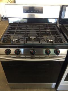 Samsung 5 Burner Gas Range in Stainless Steel