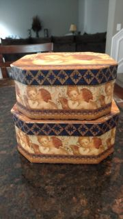 Set of stacking boxes. $2 for set. Perfect condition. PPU near Blackman High School