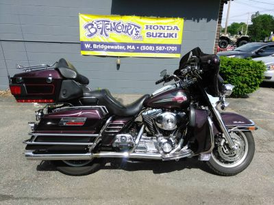 2005 Harley-Davidson FLHTCUI Ultra Classic Electra Glide Touring Motorcycles West Bridgewater, MA
