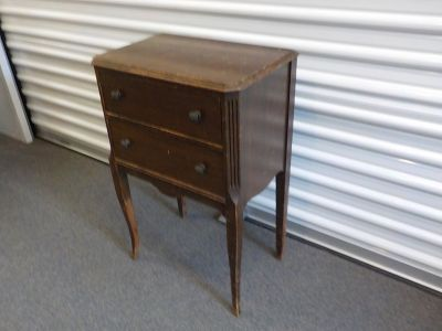 Antique Vintage Sewing Stand