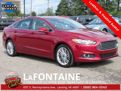 2016 Ford Fusion SE (Ruby Red Metallic Tinted Clearcoat)
