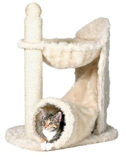 Roll over image to zoom in TRIXIE Pet Products TRIXIE Gandia Cat Tree, Beige 2579