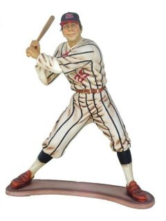 3 ft. tall baseball player statue