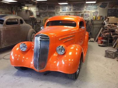 1936 Ford F-150 XLT (Orange)