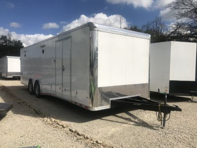 2018 COVERED WAGON 8.5 X 28 TANDEM AXLE ENCLOSED TRAILER