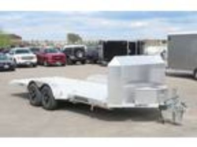 "2018 Aluma 82""x18' All Aluminum Tilt Trailer - 10k With Winch"