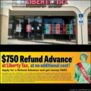 MAXIMIZE your refund with Liberty Tax Service Cash Advance