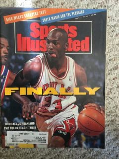 Michael Jordan Sports Illustrated - FINALLY issue