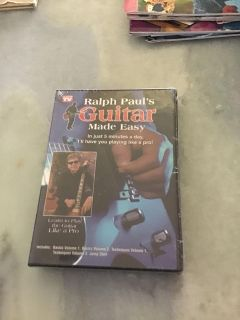 Factor sealed Ralph Paul s Guitar Made Easy