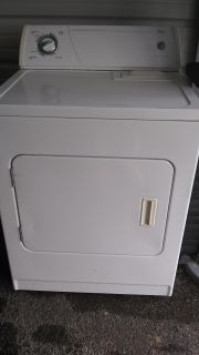 Dryer works fine just bought new when my washer went out to match !!