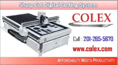 Colex - Top Most Powerful & Versatile  Sharpcut Digital Cutting System| 201-265-5670 | Elmwood Park,