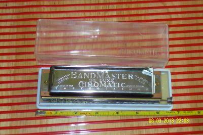 HARMONICA THE BANDMASTER DELUXE 3 FULL OCTAVES