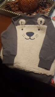 New without tags size 7 boy or girl sweatshirt