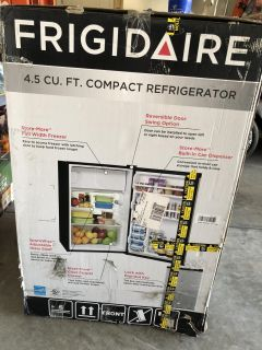Frigidaire 4.5 ft. compact stainless steel refrigerator