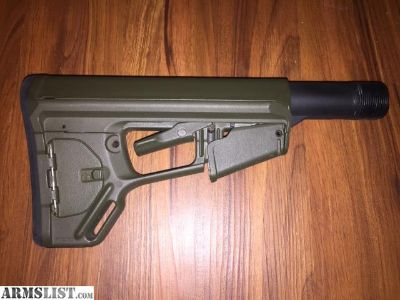 For Sale: Magpul ACS-L Stock, OD Green, Mil-Spec Dimension with Mil-Spec Buffer Tube