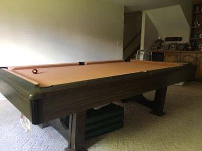 3 pc slate Pioneer pool table 8