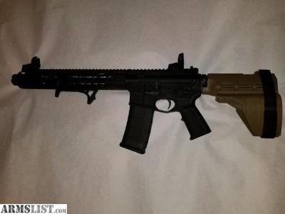 """For Sale/Trade: Custom PSA Ar15 pistol 14"""" barrel 5.56"""