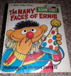 The many Faces Of Ernie A Golden book