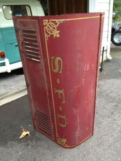Sell Vintage 1924 Seagrave Fire Truck Sheet Metal / Seattle Washington / SFD motorcycle in Olympia, Washington, US, for US $975.00