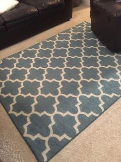 Threshold area rug and runner