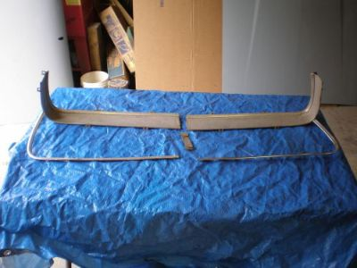 Sell 1967-1968 MUSTANG GRILLE MOULDINGS motorcycle in Baltic, Connecticut, United States, for US $50.00